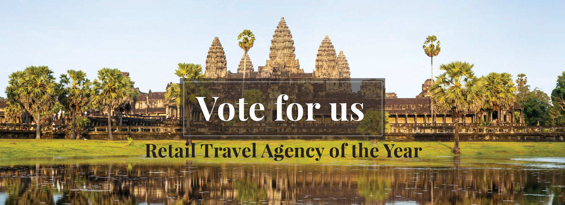 Vote for your favourite Travel Agency and Win!
