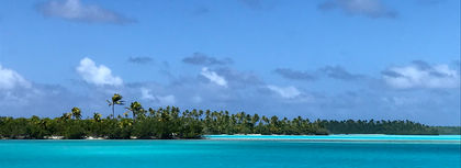 A day on Aitutaki's lagoon