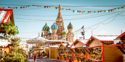 Russian Capitals Tours and rail holiday experience