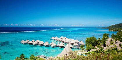 St. Regis Bora Bora Couples, flights and luxury holiday experience