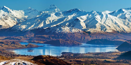Highlights of New Zealand Tours, flights and rail holiday experience