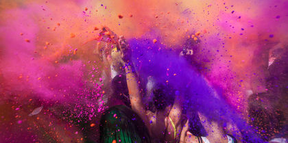 India Colour Festival Tours, family and events holiday experience