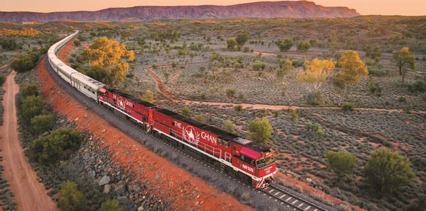Take The Ghan Expedition from Darwin to Adelaide.